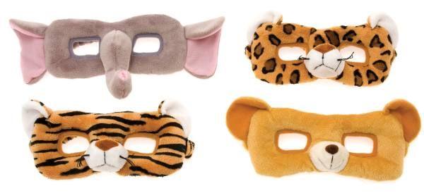 Wild Animals - Plush Face Mask