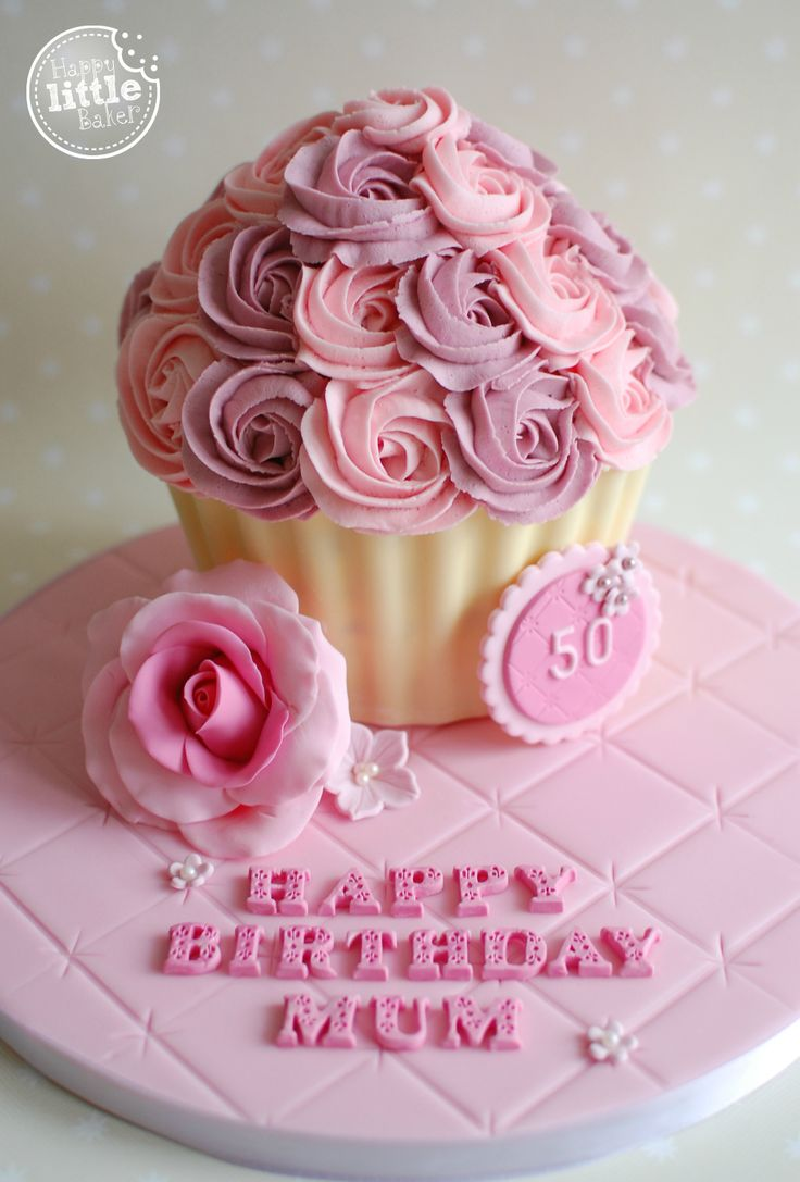 The 25 best Giant cupcake cakes ideas on Pinterest Toadstool