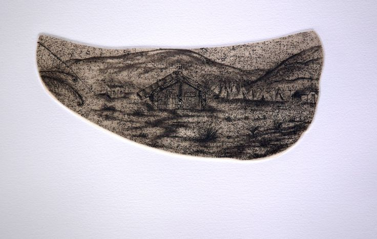 Alexis Neal, <i>Across the Shaw</i>, Drypoint on 400 x 300 mm paper, from an edition of 20, 2008. NZ$260 incl GST.