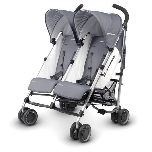 http://www.specialtytoystores.com/category/uppababy-stroller/ UPPAbaby G-Link Double Umbrella Stroller