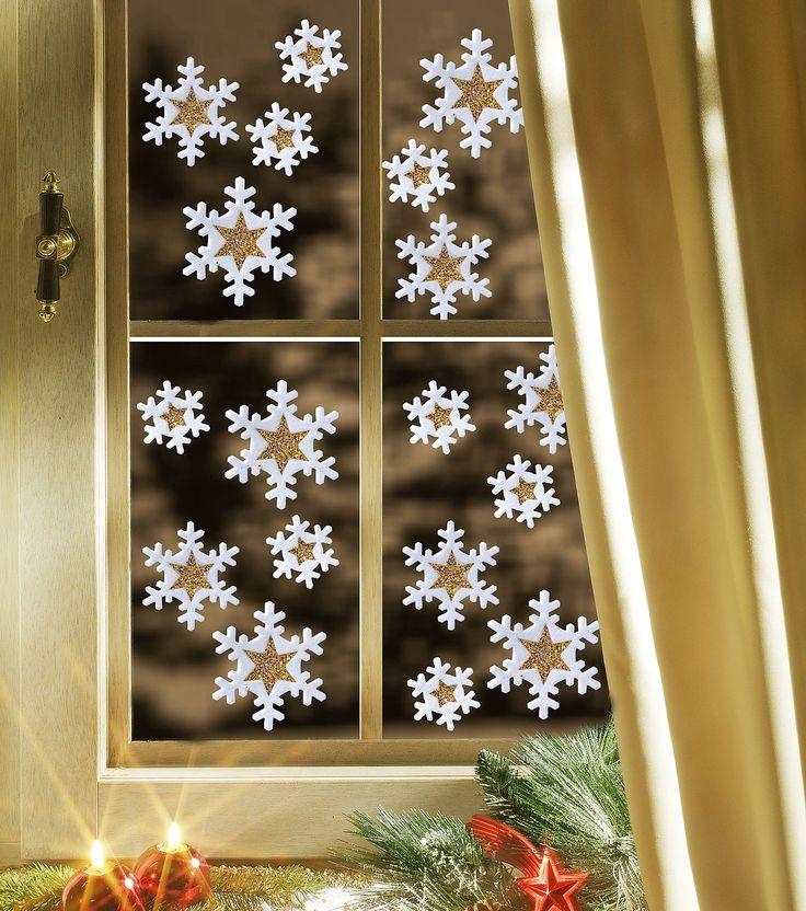 Новогодние вытынанки на окна 2018 из бумаги: схемы, фото, видео.
