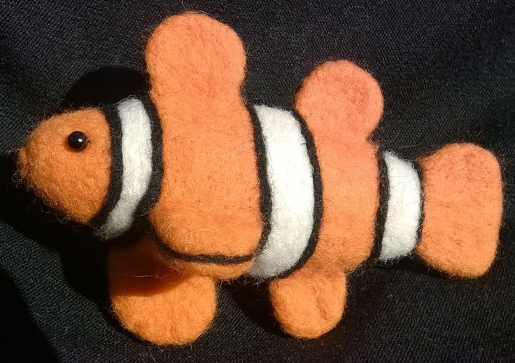 Clown Fish by LittleBowBeads on Etsy