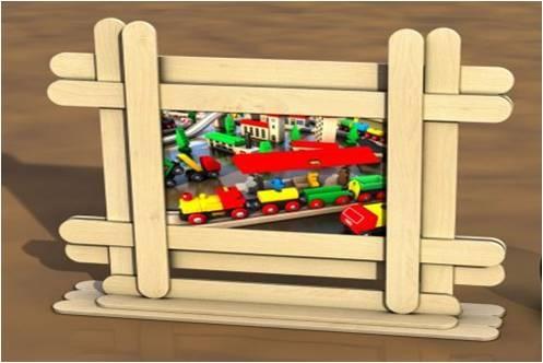 Frame for Webelos craftsman