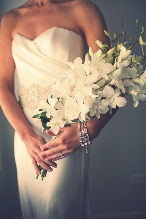 wedding bouquet long