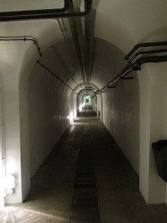 One of the many corridors