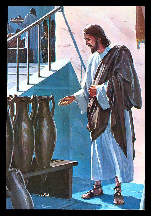 "John Steel, Jesus Said, ""Fill Them With Water"", 1964"