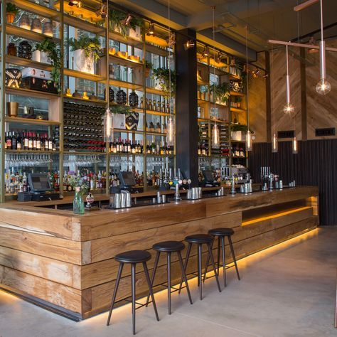 2016 Restaurant & Bar Design Awards Announced,The Refinery (Regent Place, London, UK) / Fusion DNA . Image Courtesy of The Restaurant & Bar Design Awards
