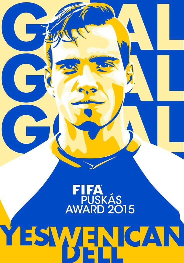 Wendell Lira - FIFA Puskás Award 2015 Winner on Behance
