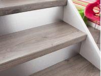 Kit de marche Renovation escalier Chene gris-Saint Maclou