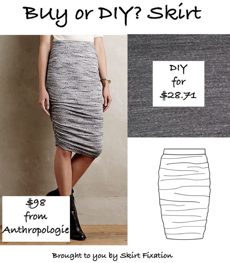 Anthropologie Knock off skirt Buy or DIY by Skirt Fixation.  Save almost $70 making it yourself with this easy beginner pattern!