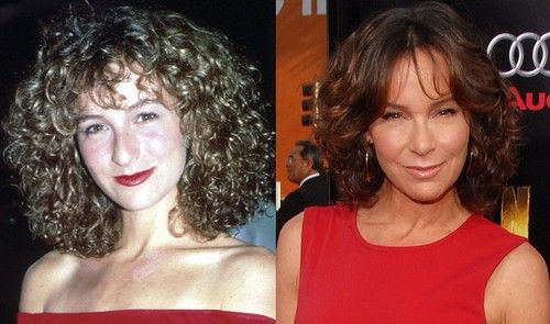"Jennifer Grey (Dirty Dancing & Ferris Bueller's Day Off) they say her plastic surgery was ""career suicide"". I would not say that it ""destroyed"" her looks at all. It just made her not look like the Jennifer we once saw on screen."