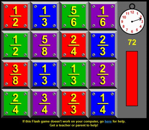 Math Games For 4th Grade -free  aligned to the Common Core