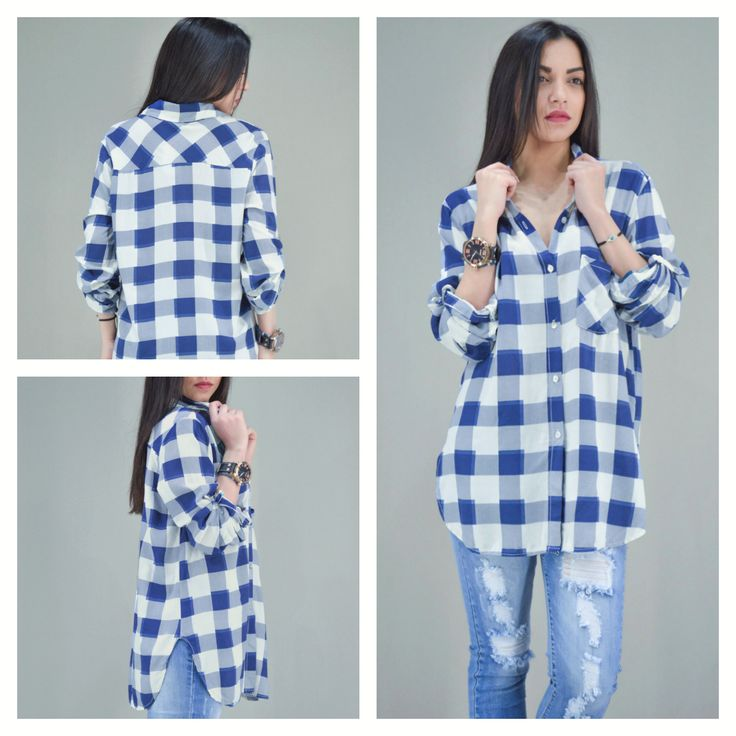 Look of the day: LOVE BLUE-LOVE PLAID!!!! Γυναικείο πουκάμισο καρό με τσέπη. Διαθέσιμο σε: Μπλε, Ροζ  ‪#‎metaldeluxe‬ ‪#‎shirt‬ ‪#‎plaid‬ ‪#‎fashion‬ ‪#‎style‬ ‪#‎fashionista‬ ‪#‎spring‬ ‪#‎blue‬ ‪#‎shopping‬ ‪#‎onlineshopping‬ ‪#‎chic‬ ‪#‎casual‬ ‪#‎womansfashion‬ ‪#‎womansclothes‬ ‪#‎womanshirt‬