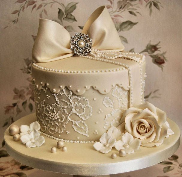 @Kathleen DeCosmo ♡❤ #Cakes ❤♡ ♥ ❥ (HR) says: A little too tizzy for us, but might be the right size. It's good to see things in different sizes. Nice colour too.