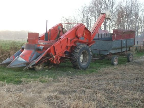 Cartoon Tractor Corn Picker : Best images about old farm machinery on pinterest