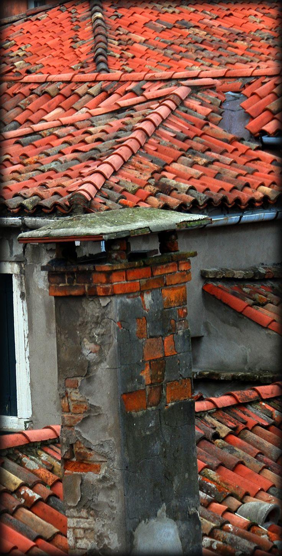 San Marco Roofs, Venice, Province Of Venezia, Veneto Region, Italy (Bailey