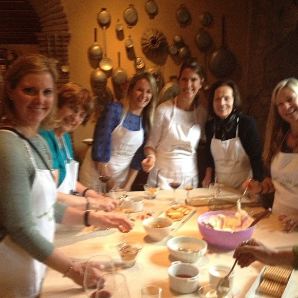 Cooking party at Locanda del Molino