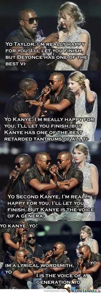 Kanye West Interrupts