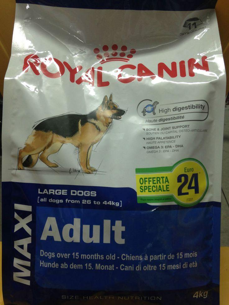 Mangime Completo Cani Royal Canin Maxi Adult Mangime Completo Cani Royal Canin Maxi Adult  PREZZO SPECIALE €24   Alimento completo per cani adulti di grande taglia (tra 26 e 44 kg) http://www.ebay.it/itm/Mangime-Completo-Cani-Royal-Canin-Maxi-Adult-/281458584637?&_trksid=p2056016.m2516.l5255