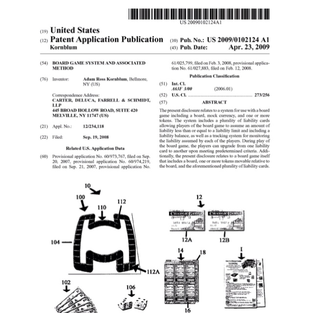 how to apply for a patent for a game
