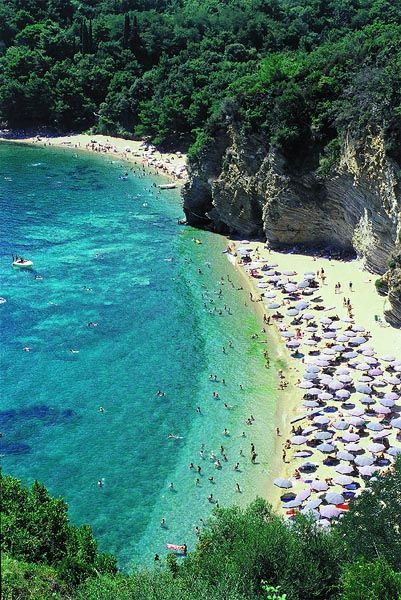 Beach in the city of Budva | Montenegro -- was just there a couple of weeks ago! Just as fabulous in person