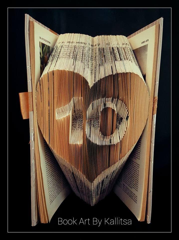 Δώρο για επέτειο γάμου ή σχέσης για τα 10 χρόνια.  #bookartbykallitsa #bookfolding #βιβλίο #ιδέες #δώρα