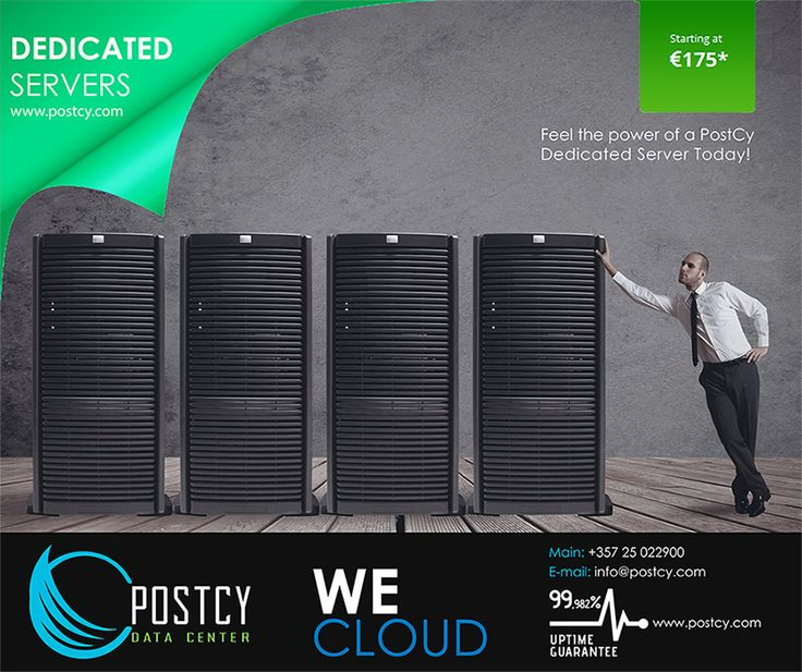 Feel the power of a PostCy Dedicated Server Today! You can lease a physical server dedicated for your operations. Our specialists will help you choose the right server ensuring that all of your enterprise needs are met. You will gain more flexibility without worrying about any hardware upgrades and save the initial cost for implementing such a server at your premises...