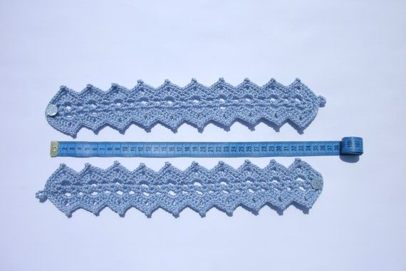 Curtain holdback Crochet curtain ties Curtain tie backs Curtain tiebacks Curtain holders Set of 2 curtain ties Pair of curtain tie backs   A set of 2 crochet curtain tie backs.  Color: blue. Material: 100% polyester. Approx 37 cm (14,5 inches) long.  Care instruction: Hand wash in cool water. Block it or lay flat to dry.