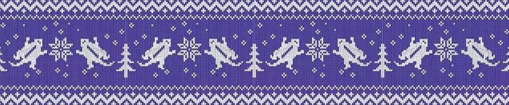Christmas horned frog wallpaper