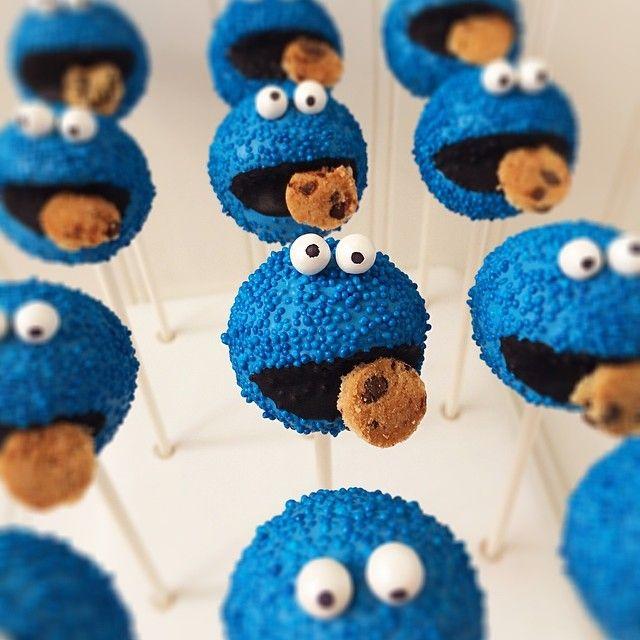 17 Best Ideas About Monster Cake Pops On Pinterest