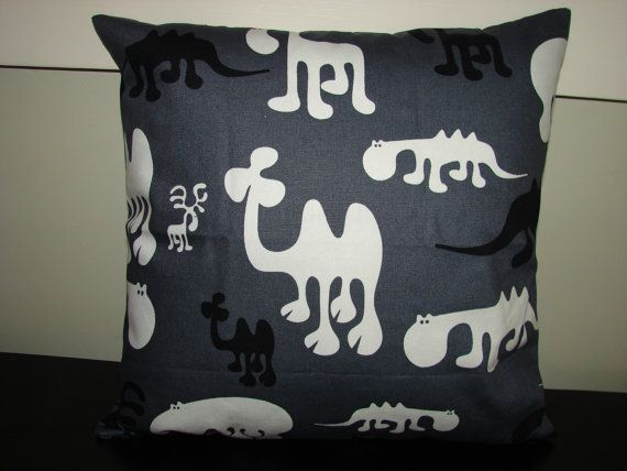 Adorable cushion pillow cover, animal print from, …
