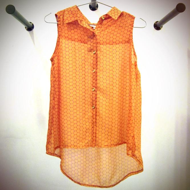 Blusón naranja