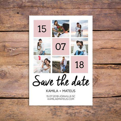 Save the Date Digital TV1 – com fotos