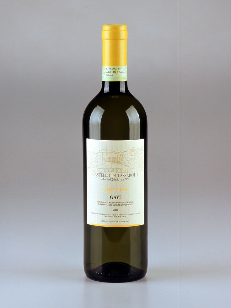 The wonderful crisp, light Gavi wine Spinola produced by Castello Di Tassarolo, imported by Wine Zone. Email: winezone@uswinezone.com