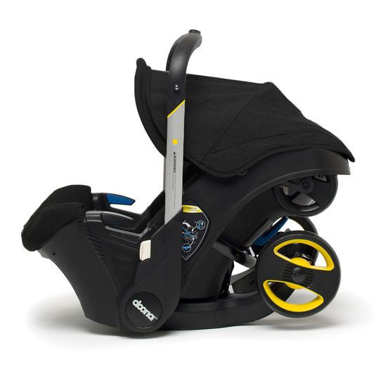 Doona Infant Car Seat/Stroller » This is so cool! from car seat to stroller, seamlessly. Wish I had this!