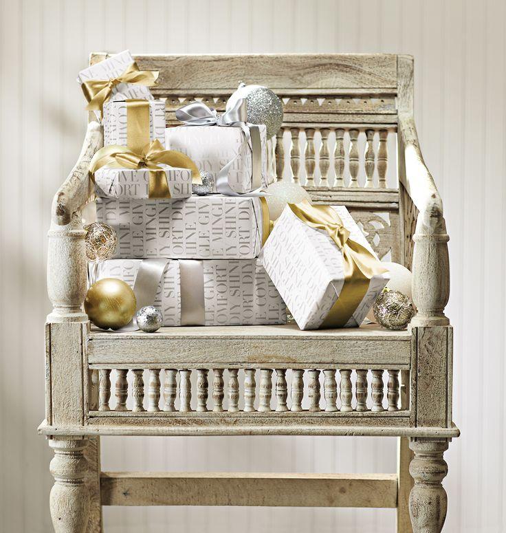 The merry little Maharaja chair. #HomeDecorators #Holidays