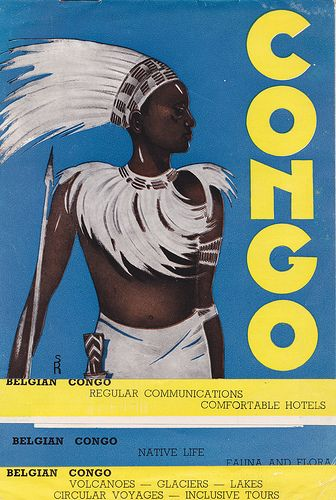 Belgian Congo - tourist brochure issued for the 1939 New York World's Fair