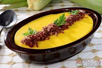 Receita de Pamonha cremosa de forno em Salgados, veja essa e outras receitas aqui!