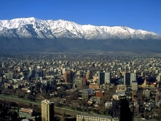 The usual view from My city! <3 Santiago, Chile