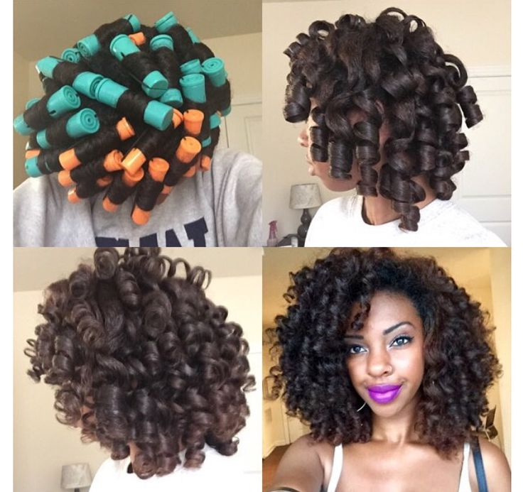 816 best diy hairstyles images on pinterest natural hair natural big perm rod set purple lips solutioingenieria Choice Image