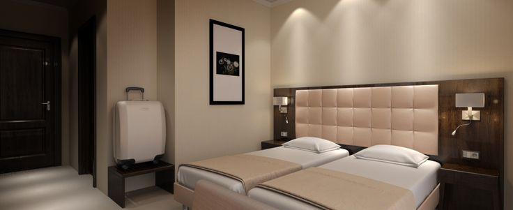 Hotel Salis- room rendering
