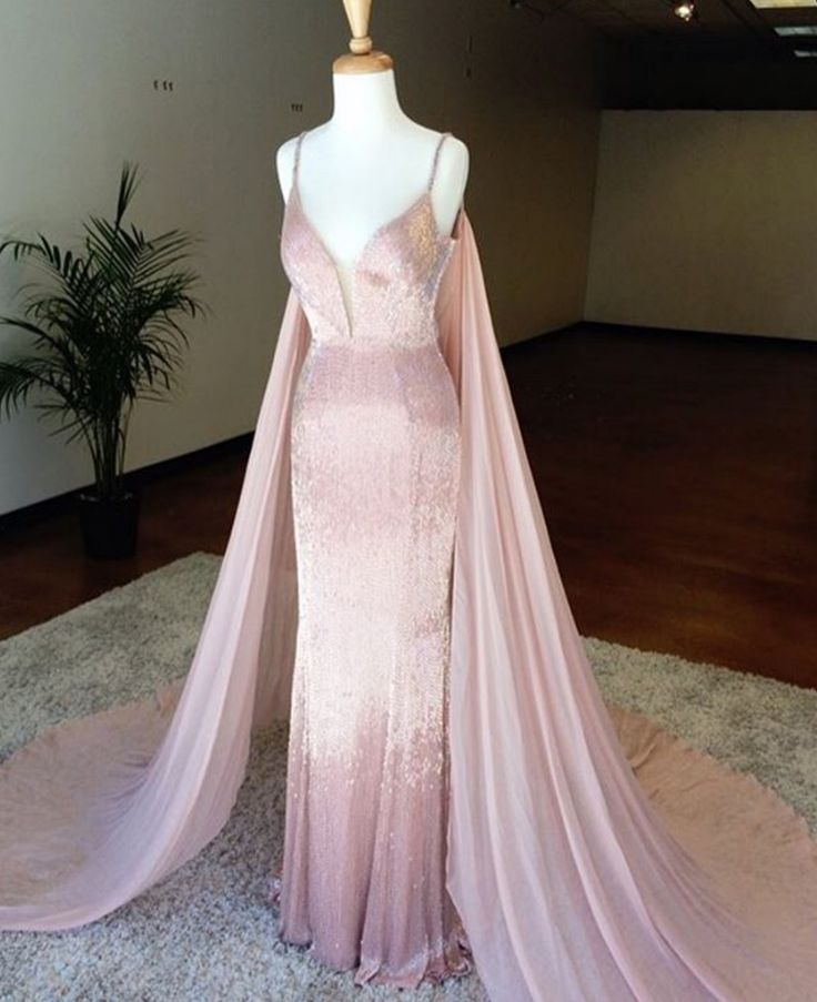 This pink liquid beaded evening gown can be recreated for a client in any color or with any design changes. We specialize in affordable custom evening dresses for women of all sizes. We can even make a very close #replica of any designer dress for those on a tighter budget. Get pricing on custom evening dresses & replicas at www.dariuscordell.com