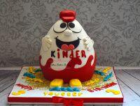 Kinder Überraschung 3D Fondantkuchen – Cakes ❤️❤️