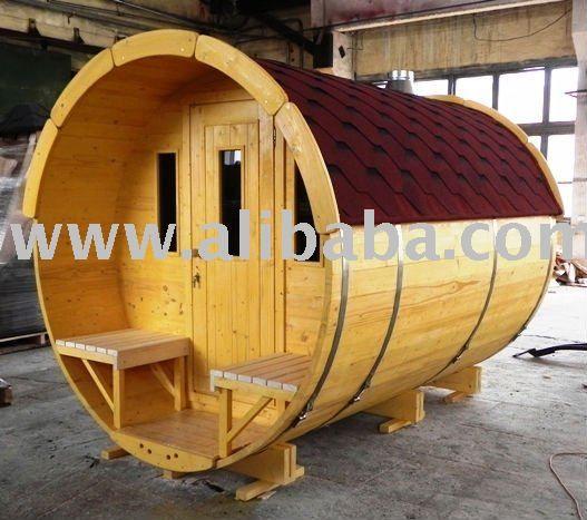 #sauna barrel fass Bains du champs cuves