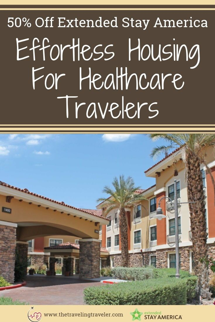 Extended Stay America Promo Code Up To 40 Off Extended Stay Travel Nurse Housing Travel Nursing