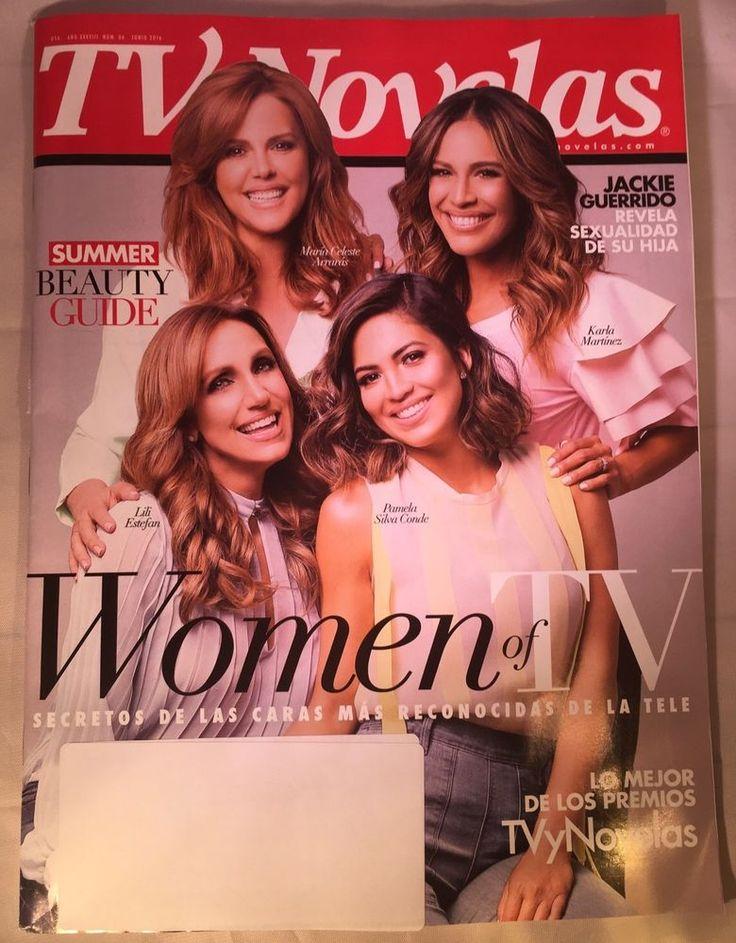 TV Novelas Magazine June Junio 2016 SUMMER BEAUTY GUIDE Women Of TV    eBay
