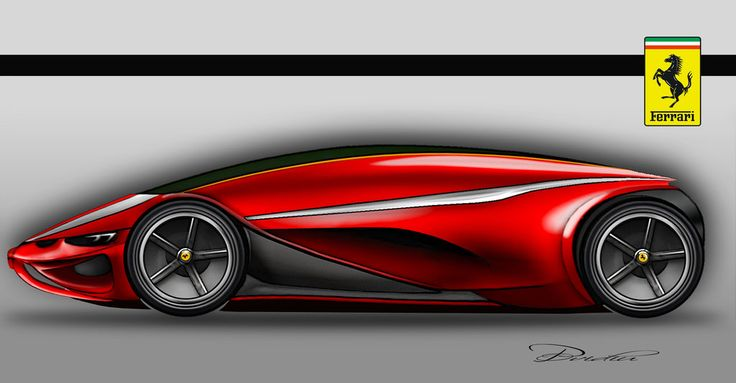 Ferrari prototype by ovidiuart.deviantart.com on @DeviantArt