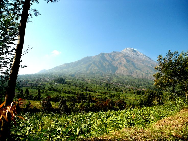 Merapi Volcano From Ketep, Indonesia