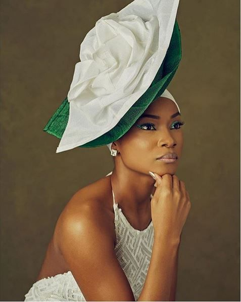Hot Shots: Nigerian Creatives Celebrate Nigerian Independence With Gele Images | FashionGHANA.com: 100% African Fashion