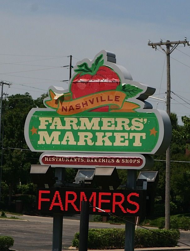 Nashville Farmers Market  #BFFNashville We love hitting the farmers market!